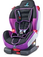 Autosedačka CARETERO Sport TurboFix purple 2016