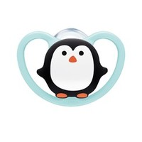 Šidítko Space NUk 6-18m BOX penguin